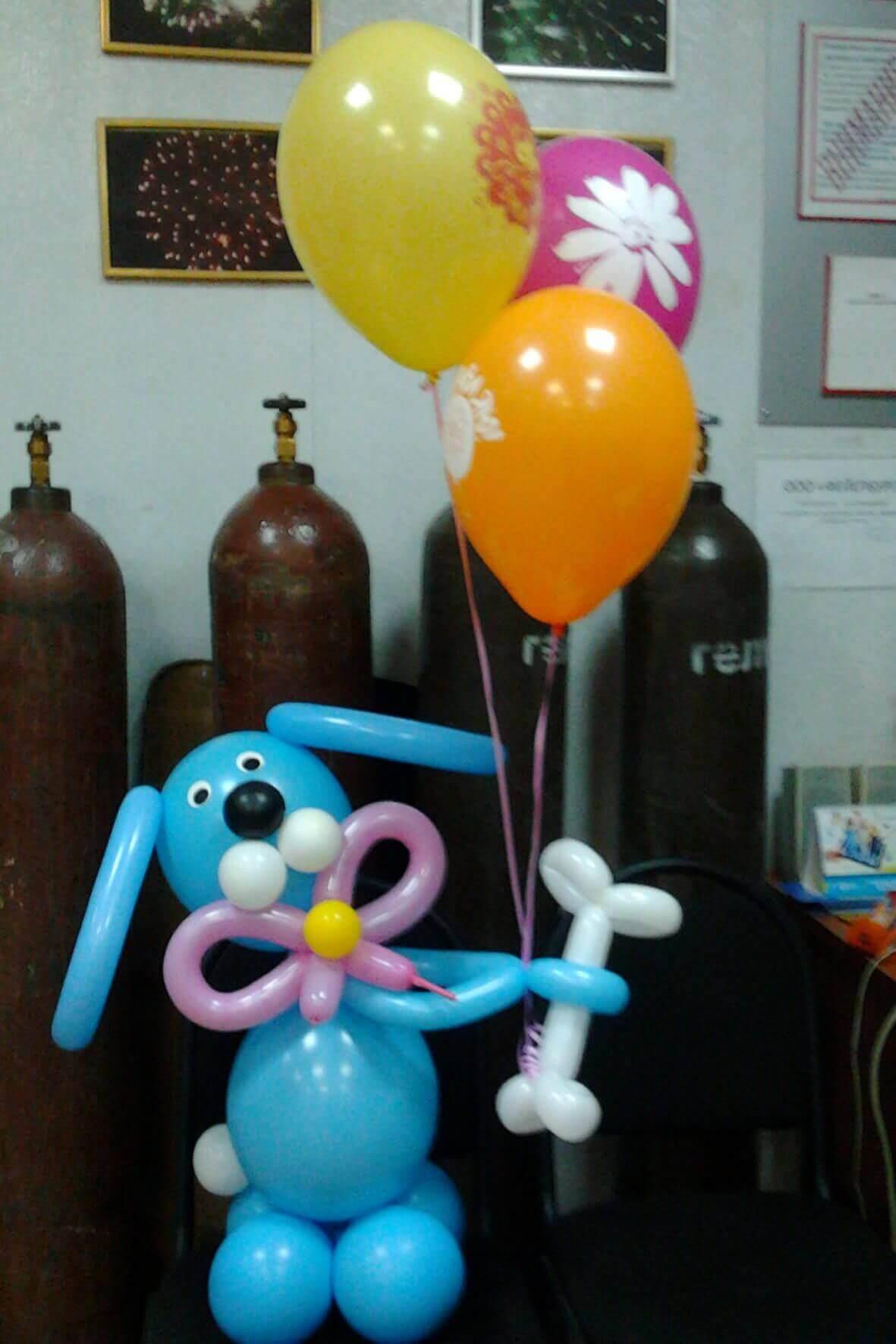 Гелиевые шары, фигуры Оренбург
